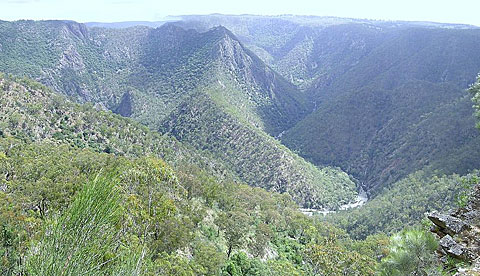 Armidale Accommodation - Wollomombi and the Chandler Falls